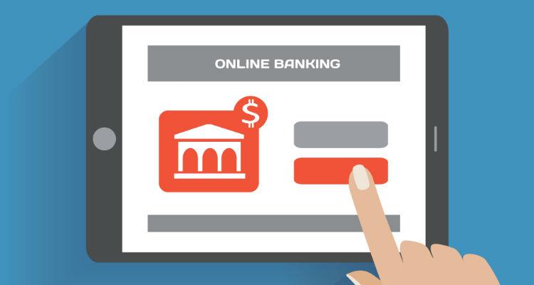Imagem representativa de um banco online